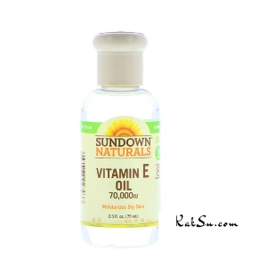 Sundown Natural - Vitamin E Oil